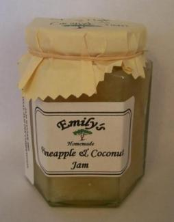 Emilys Jam and Pickles -  Pineapple & Coconut Jam